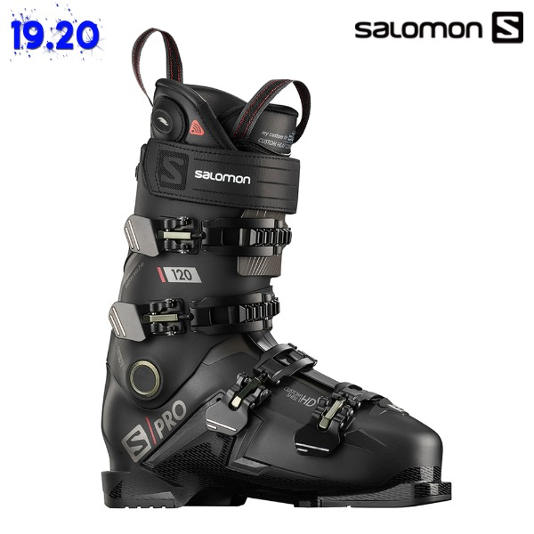 1920 SALOMON S/PRO 120 CHC - Black/Belliga/Red (살로몬 S 프로 120 CHC Black/Belliga/Red 스키 플레이트)